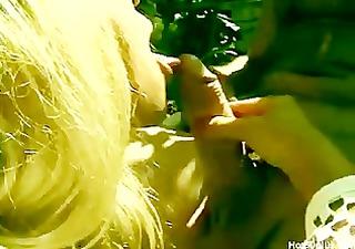 Classic blonde granny cougar