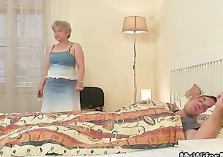 she bonks her son in law as he sleeps