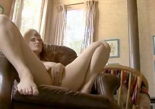 redhead mature rubbing