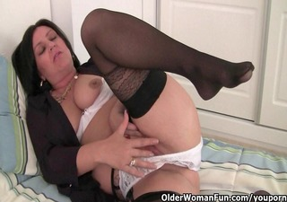 hard nippled mother i wears stockings and