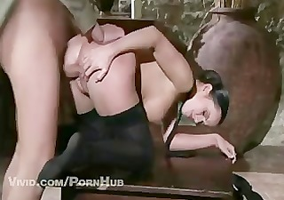 cindy dollar takes dick in the ass